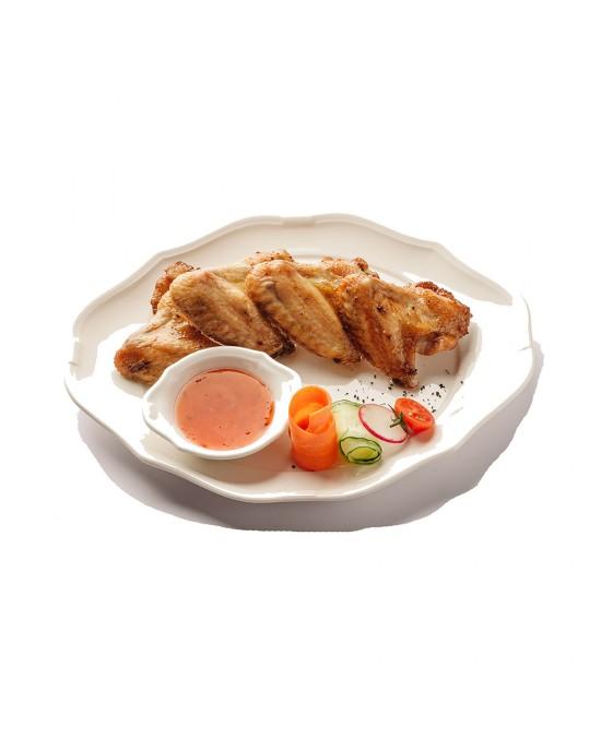 Куриные крылья в медово-остром соусе