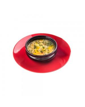 Пилешка супа с кисело мляко